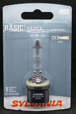 New Sylvania Basic 893 Halogen Lamp Replacement Single Bulb 893.BP 12V 37.5W
