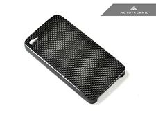 GENUINE AUTOTECKNIC CARBON FIBER IPHONE 4 4S COVER CASE - LIMITED QUANTITY SALE