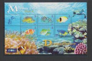 BIOT 2008 Marine Life Damselfishes M/S MH per scan .. hinge remnants