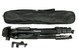 "VERY GOOD | Regetek 70"" Aluminum Professional Camera Tripod w/ Bag"