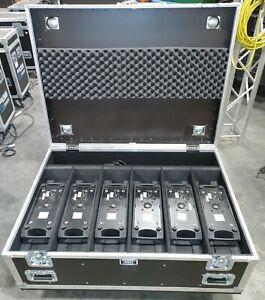 Chauvet Rogue R1 FX-B 6 pack with Road Case