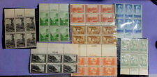 US Stamps: 740.1.3.4.6.7.8.9.National Parks TOP Plate Blocks Mint, Never Hinged