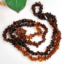 "3x8mm Brown Crystal Chip Beads Long Strands 36"" (CR13)c"