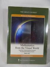 Great Courses Mathematics from the Visual World DVD Set + Guide Book New Sealed
