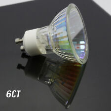 6pack 75 Watt GU10 Halogen Bulb 120 Volt 75w GU10 Halogen Light Bulb