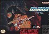 Darius Twin Original Nintendo SNES game 100% Authentic Tested clean