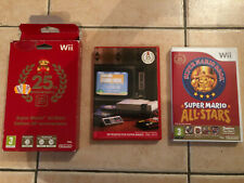 Jeu video Super Mario All-Stars edition 25 anniversaire Nintendo Wii