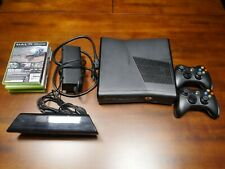 New listing Microsoft Xbox 360 S with Kinect 250Gb Glossy Black Console & Game Bundle