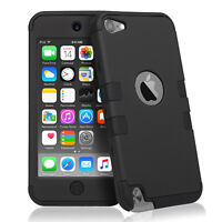 Full Protection Triple Layers Armor iPod Touch 5th/6th Gen. Case Cover 3 Colors