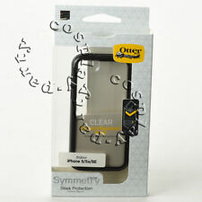 OtterBox Symmetry Snap Case For Phone SE iPhone 5 iPhone 5s - Clear / Black