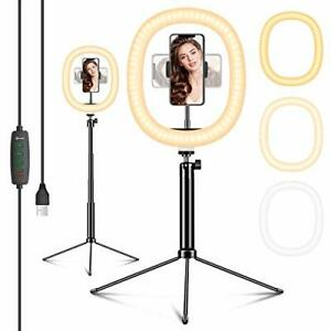 """12"""" LED Ring Light with Tripod Stand & Phone Holder&Remote Control-Tiktok"""