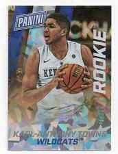 2014-15 Panini  [ Karl-Anthony Towns ] 1/1 Rookie Cracked Ice RC 01/25 #36 VIP