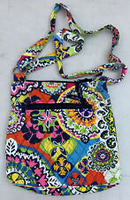 Vera Bradley Hipster Crossbody Purse with Adjustable Strap RIO Retired Pattern