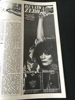Sounds 1979 RENATO ZERO LP PROMOTION Lene Lovich GARY NUMAN Robert Palmer PRIEST