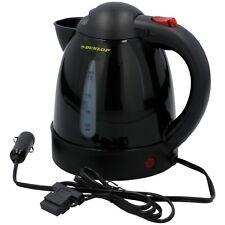 Dunlop 12V 150W Wasserkocher ohne Heizspirale 0,8 Liter Kaffee Tee PKW KFZ Auto
