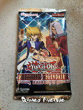 Yu-Gi-Oh ! Booster Duellistes Légendaires contient 18 cartes : Saison 1 VF/Neuf