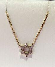 14kt yellow gold 0.10ctw diamond Jewish Star of David pendant Retails for $399