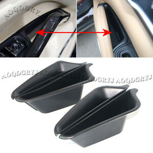 For Porsche Cayenne 2011-2017 ABS Plastic Car Door Storage Box Container Holder