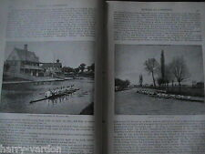 Rowing Cambridge Varsity Boat Race Last Words Don Carlos Victorian Articles 1889