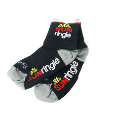 Sock Guy Cycling Socks Sun Ringle S / M Black/Red