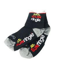 Sock Guy Cycling Socks Sun Ringle S / M Black/Red
