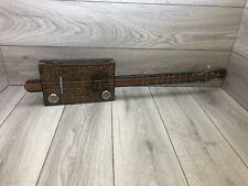 More details for  5 cent old timer guitar cigar box guitar