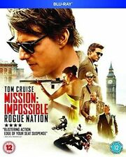 MISSION IMPOSSIBLE - ROGUE NATION - BLU RAY - NEW / SEALED - UK STOCK