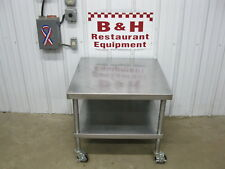 """30"""" Stainless Steel Equipment Table Mixer Slicer Griddle Fryer Stand"""