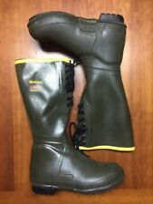 """LaCrosse Boots Sz 10 18"""" 800g Thinsulate Thermal Insulation Hunting Lace-Up EUC"""