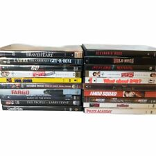 Lot of 20 DVD Mixed Titles Meatballs Police Academy Mod Squad Pearl Harbor