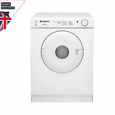 Hotpoint V4D01P Compact Vented Tumble Dryer 4kg Load White