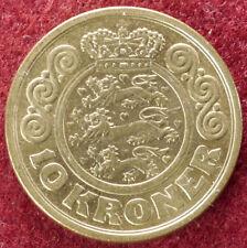 Dinamarca 10 coronas 1989 (D2408)
