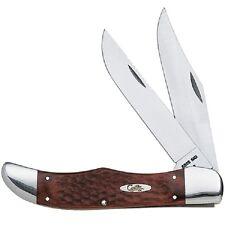 CASE XX KNIVES STAMINAWOOD LARGE FOLDING HUNTER KNIFE & SHEATH #189