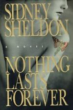 Nothing Lasts Forever by Sidney Sheldon FIRST EDITION H/C W/Jacket EC Used