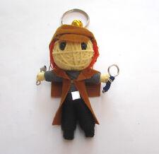 Sherlock Holmes Voodoo String Doll Keychain Ornament Accessory (Thai handmade)