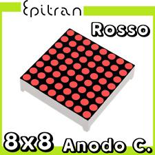 Dot matrix display a LED matrice di punti Rosso ad Anodo comune 8x8 8*8 64