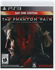 New Metal Gear Solid V The Phantom Pain Day One Edition Sony Playstation 3 PS3
