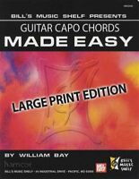 Guitar Capo Chords Made Easy Large Print Edition Chord Book