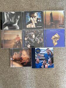 ROBBIE WILLIAMS 8 x CD bundle