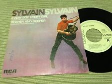"SYLVAIN SYLVAIN NEW YORK DOLLS SPANISH 7"" SINGLE SPAIN WHITE LABEL ROCK AND ROLL"