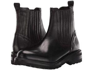 Frye Ella Moto 3470847 Chelsea Boots, Women's Size 9 M, Black NEW