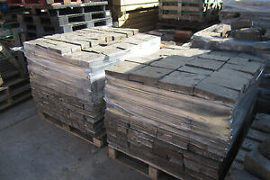 Reclaimed Pavers 9inch long 4.5inch wide