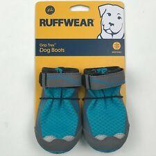 Ruffwear Blue Spring Grip Trex All-Terrain Paw Wear Dog Boots sz 2.5in 64mm