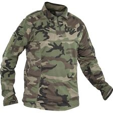 New Valken Paintball VTac V-Tac Tango Combat Playing Jersey - Woodland  Medium M