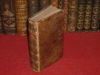FONTENELLE / DIALOGUES DES MORTS 1709 Rare! Ed. LA HAYE T.JOHNSON César & Brutus