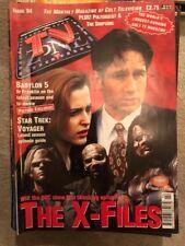 TV Zone 1997 94 X Files Babylon 5 Dr Who Star Trek Voyager Poltergeist Simpsons