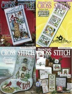2018 Stoney Creek Cross Stitch Magazine - Winter, Spring, Summer, Autumn Issues