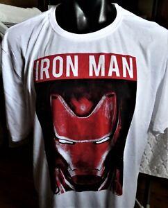 "BIG MENS ""IRON MAN  "" T/SHIRT, SIZE 4XL "" AVENGERS  """