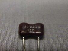20 KEC 270PF ±5% 100V Dipped Silver Mica Capacitors