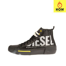 RRP€130 DIESEL S-DESE MID CUT W Sneakers EU42.5 UK8.5 US9.5 Contrast Leather